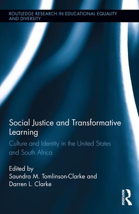 Social Justice and Transformative Learning: Culture and Identity in the United States and South Africa book cover