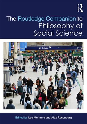 The Routledge Companion to Philosophy of Social Science (Hardback) book cover
