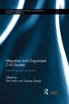Migration and Organized Civil Society: Rethinking National Policy book cover