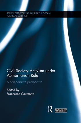 Civil Society Activism under Authoritarian Rule: A Comparative Perspective book cover