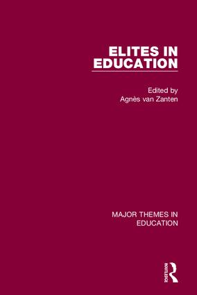 Elites in Education book cover
