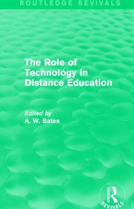The Role of Technology in Distance Education (Routledge Revivals) book cover