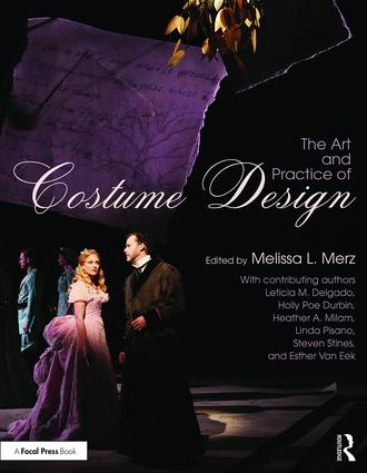 The Art and Practice of Costume Design (Paperback) book cover