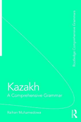 Kazakh: A Comprehensive Grammar book cover