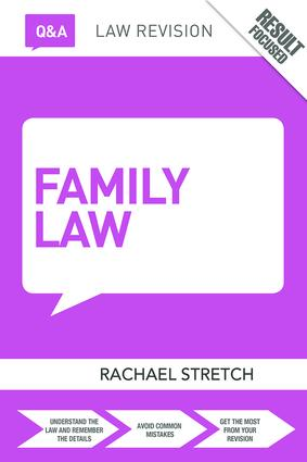 Q&A Family Law: 8th Edition (Paperback) book cover