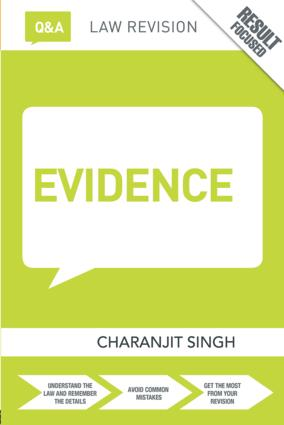 Q&A Evidence book cover