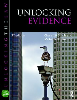 Unlocking Evidence book cover