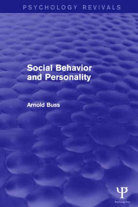 Social Behavior and Personality: 1st Edition (Paperback) book cover