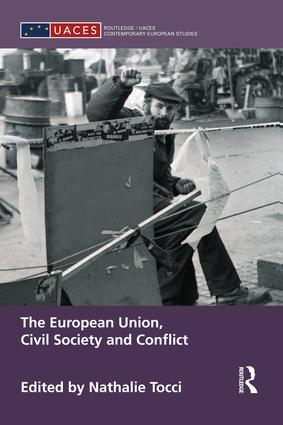 The European Union, Civil Society and Conflict book cover