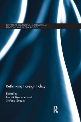 Rethinking Foreign Policy: 1st Edition (e-Book) book cover