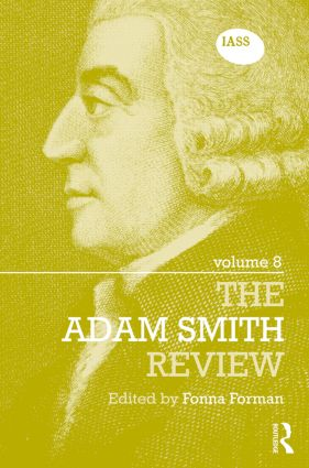 The Adam Smith Review Volume 8: 1st Edition (Hardback) book cover