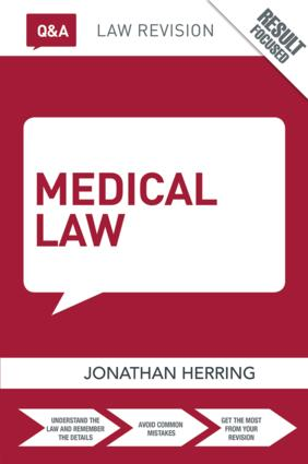 Q&A Medical Law book cover