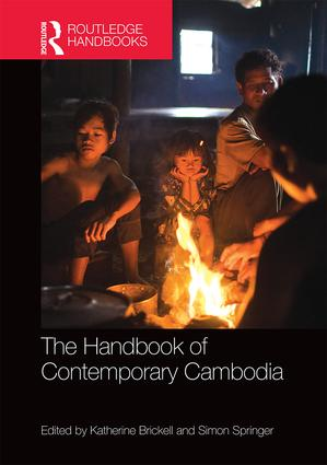 The Handbook of Contemporary Cambodia (Hardback) book cover