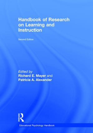 Handbook of Research on Learning and Instruction: 2nd Edition (Hardback) book cover