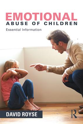 Emotional Abuse of Children: Essential Information book cover
