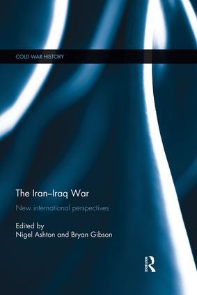 The Iran-Iraq War: New International Perspectives book cover
