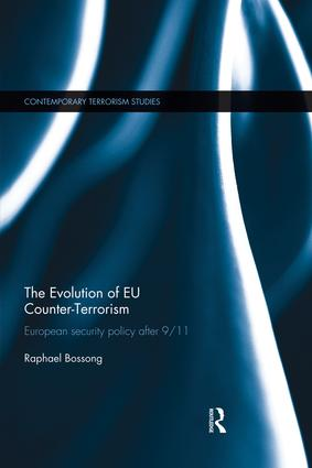 The Evolution of EU Counter-Terrorism: European Security Policy after 9/11 book cover