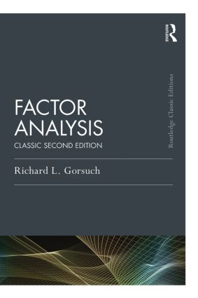 Factor Analysis: Classic Edition book cover