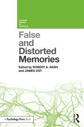 False and Distorted Memories: 1st Edition (Paperback) book cover