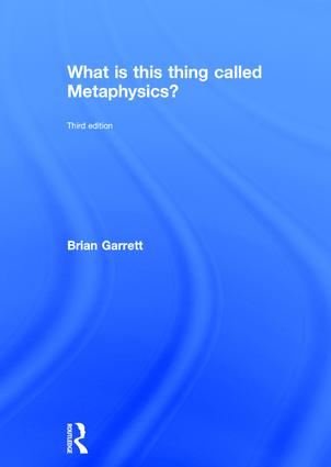 What is this thing called Metaphysics? book cover