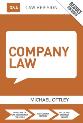 Q&A Company Law book cover