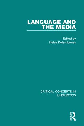 Language and the Media: 1st Edition (Hardback) book cover