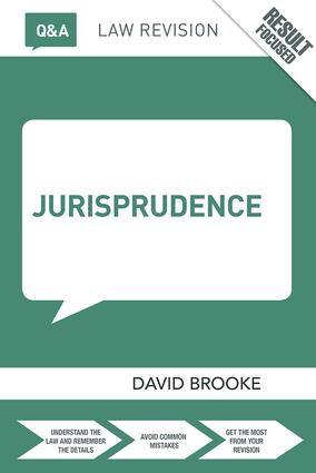 Q&A Jurisprudence: 7th Edition (Paperback) book cover
