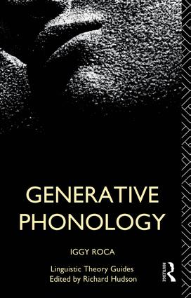 Generative Phonology book cover