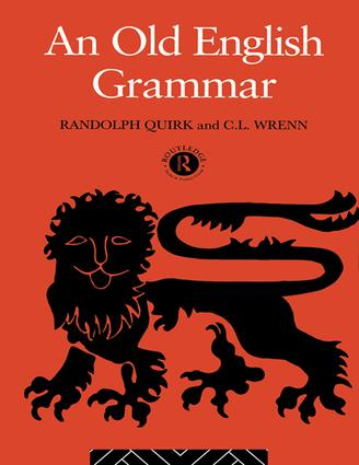 An Old English Grammar: 2nd Edition (Hardback) book cover