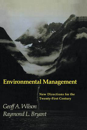 Environmental Management: 1st Edition (Paperback) book cover
