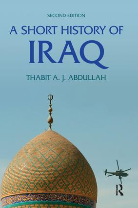A Short History of Iraq: 2nd Edition (Hardback) book cover