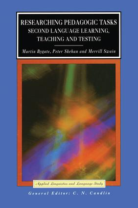 Researching Pedagogic Tasks: Second Language Learning, Teaching, and Testing book cover