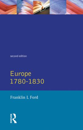 Europe 1780 - 1830: 2nd Edition (Hardback) book cover