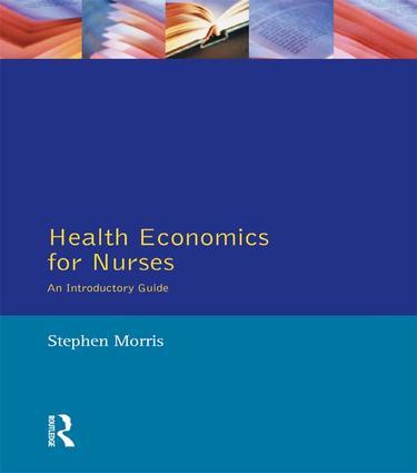 Health Economics For Nurses: Intro Guide (Hardback) book cover