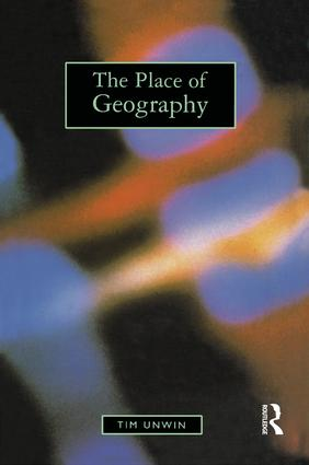 The emergence of geography as a formal academic discipline