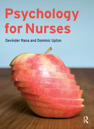 Psychology for Nurses (Hardback) book cover