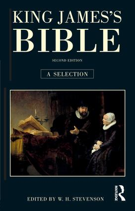 King James's Bible: A Selection, 2nd Edition (Hardback) book cover