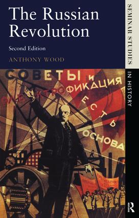 The Russian Revolution: 2nd Edition (Hardback) book cover