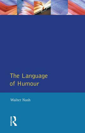 The Language of Humour: 1st Edition (Hardback) book cover