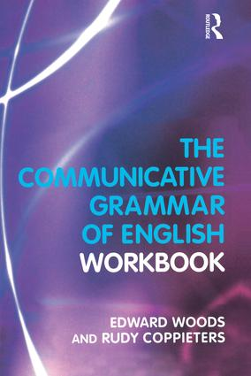 The Communicative Grammar of English Workbook: 1st Edition (Hardback) book cover