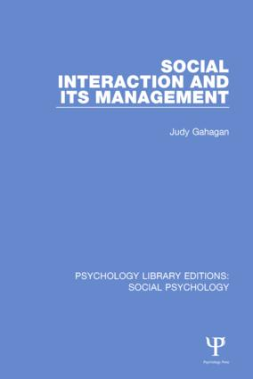 Roles, situations and environment -the backdrop of social interaction