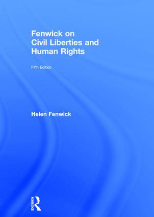 Fenwick on Civil Liberties & Human Rights: 5th Edition (Hardback) book cover