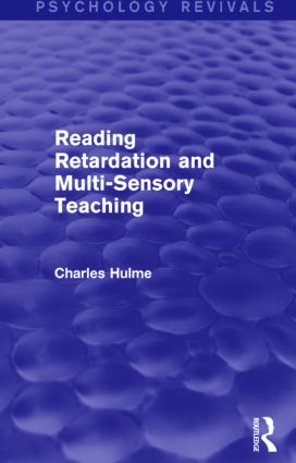 Reading Retardation and Multi-Sensory Teaching: 1st Edition (Paperback) book cover