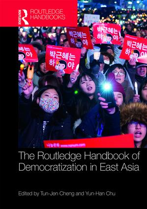 Routledge Handbook of Democratization in East Asia (Hardback) book cover