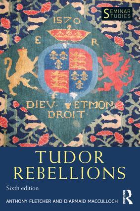 Tudor Rebellions: 6th Edition (Paperback) book cover