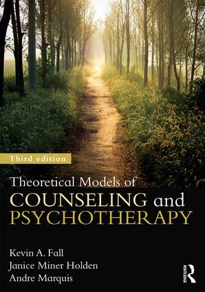 Theoretical Models of Counseling and Psychotherapy: 3rd Edition (Paperback) book cover