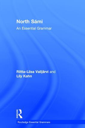 North Sámi: An Essential Grammar book cover