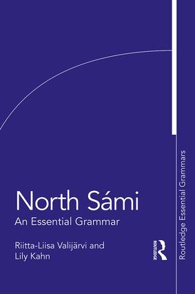 North Sámi: An Essential Grammar book cover