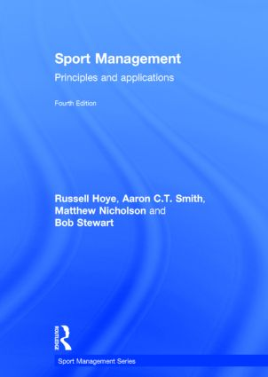Sport Management: Principles and Applications book cover