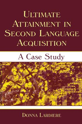 Ultimate Attainment in Second Language Acquisition: A Case Study (Paperback) book cover